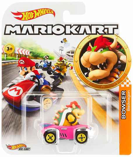 Hot Wheels Mario Kart Replica Die-Cast - Bowser