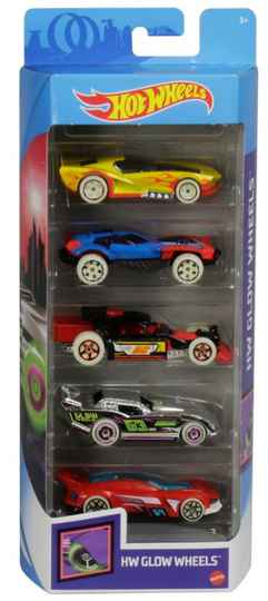 Hot Wheels Cadeauset met 5 Auto's (GHP65)