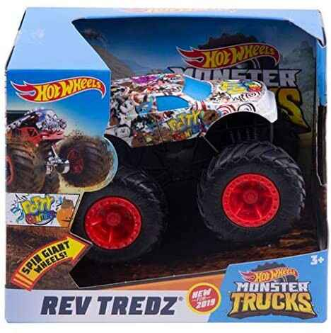 Hot Wheels Monster Trucks 1:43 - Rev Tredz Potty Central