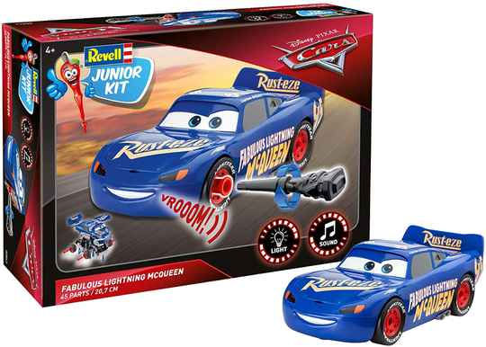 Disney Cars 3 - Revell Junior Kit - Fabulous Lightning McQueen