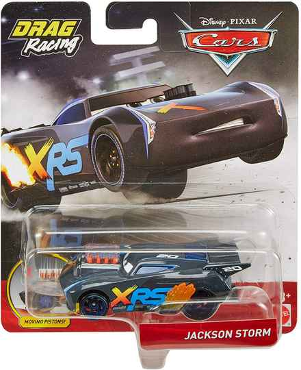 Disney Cars XRS Drag Racing - Jackson Storm