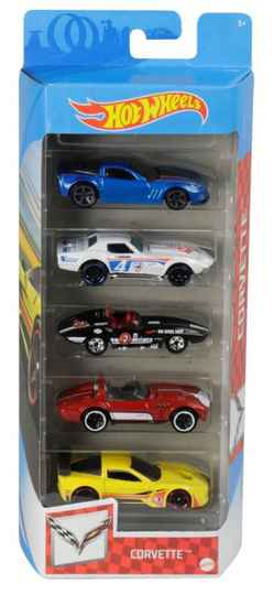 Hot Wheels Cadeauset met 5 Auto's (GTN35)