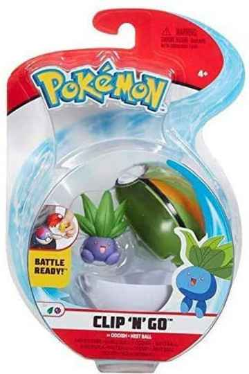 Pokemon Clip 'n Go Oddish Nest ball