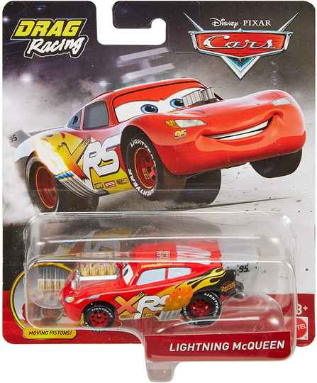 Disney Cars XRS Drag Racing - Lightning McQueen