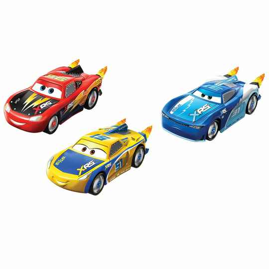 Cars XRS McQueen 3 Pack