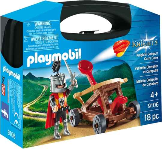 PLAYMOBIL Knights - Catapult Carry Case - 9106