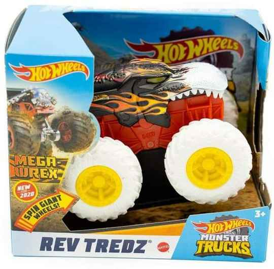 Hot Wheels Monster Trucks 1:43 - Rev Tredz Mega Wrex