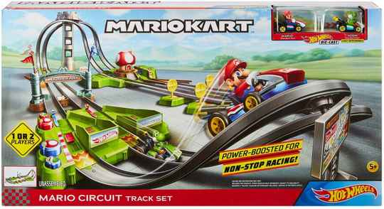 Hot Wheels Mario Kart Speelset - Racebaan