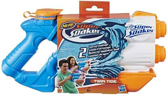 NERF Super Soaker Twin Tide - Waterpistool