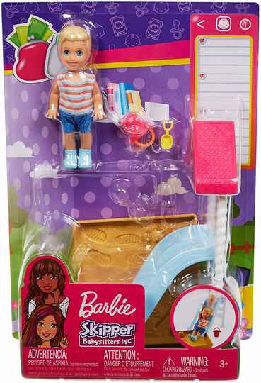 Barbie Skipper Club Babysitter Speelplaats
