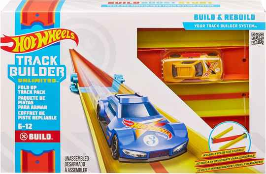 Hot Wheels Track Builder Scherpe bochtenset