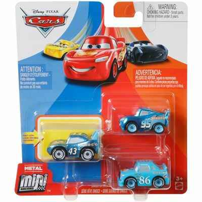 Disney Pixar Cars Mini Racers Set van 3 Auto's (GKG07)