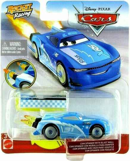 Disney Cars XRS Rocket Racing - Cam Spinner