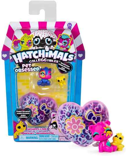 Hatchimals CollEGGtibles Pet Obsessed 2 Pack