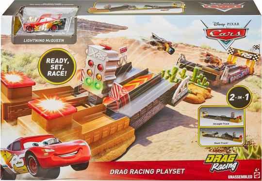Cars XRS Drag Racing Track Set - Racebaan