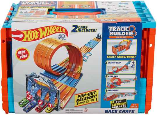 Hot Wheels Track Builder Epic Challenge - Racebaan