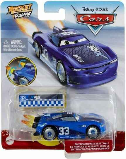 Disney Cars XRS Rocket Racing - Ed Truncan