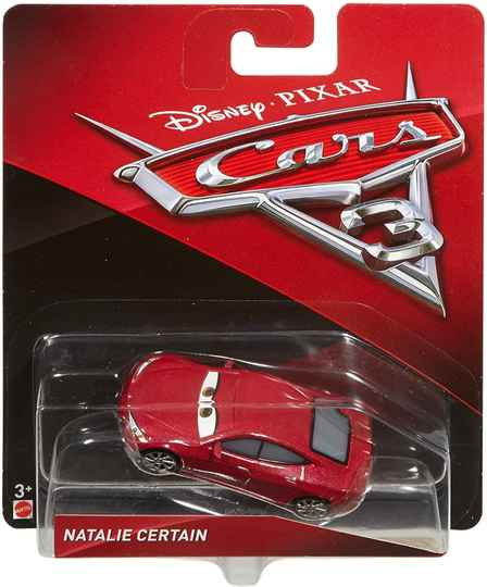 Mattel Disney Cars 3 Die-Cast Natalie Certain