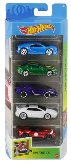 Hot Wheels Cadeauset met 5 Auto's (GTN33)