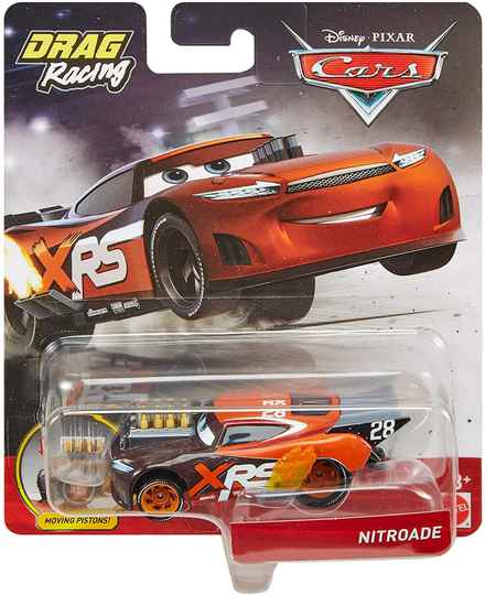 Disney Cars XRS Drag Racing - Nitroade