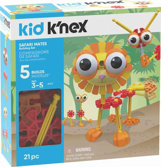 Kid K'NEX Safari Mates - Bouwset