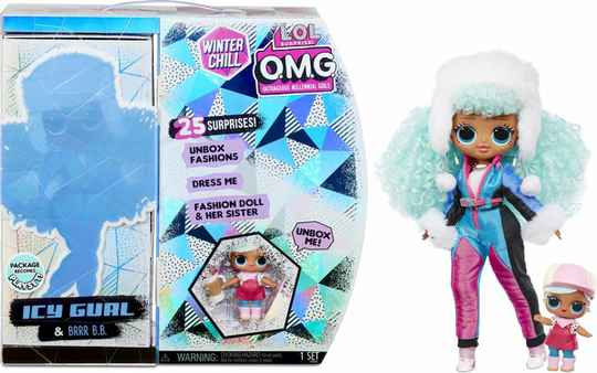 L.O.L. Surprise! OMG Winter Chill - Icy Gurl en Brrr B.B.