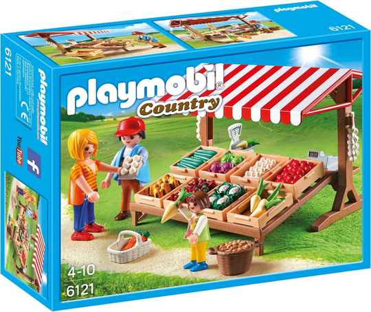 PLAYMOBIL Groentekraam - 6121