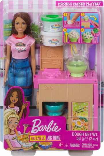 Barbie Noodlebar Pop en Speelset