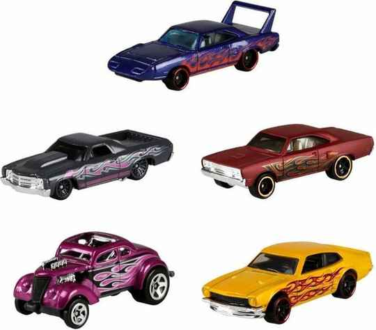 Hot Wheels Cadeauset met 5 Auto's (GHP60)