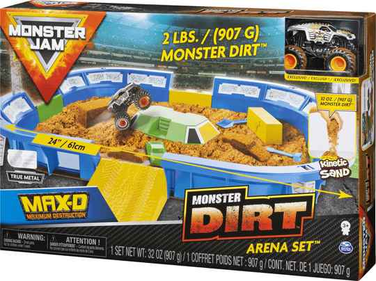 Monster Jam - Dirt Arena Playset