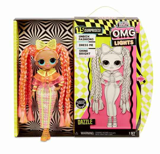 L.O.L. Surprise OMG Doll Neon Series Dazzle