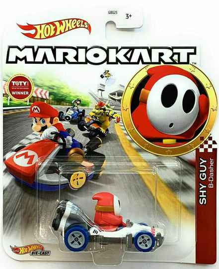 Hot Wheels Mario Kart Replica Die-Cast - Shy Guy