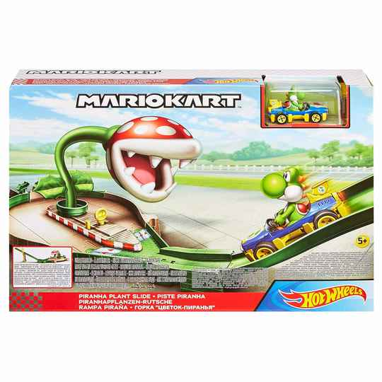 Hot Wheels Mario Kart Speelset - Piranha