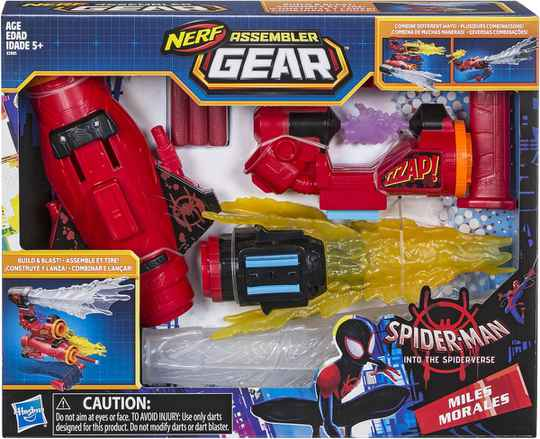 Spider-Man Movie Nerf Assembler Gear