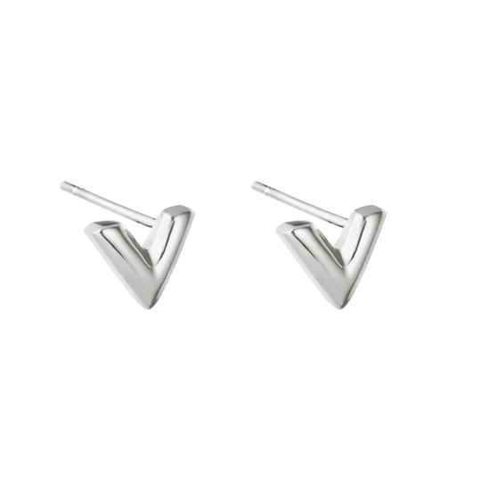 EARRINGS V - SILVER