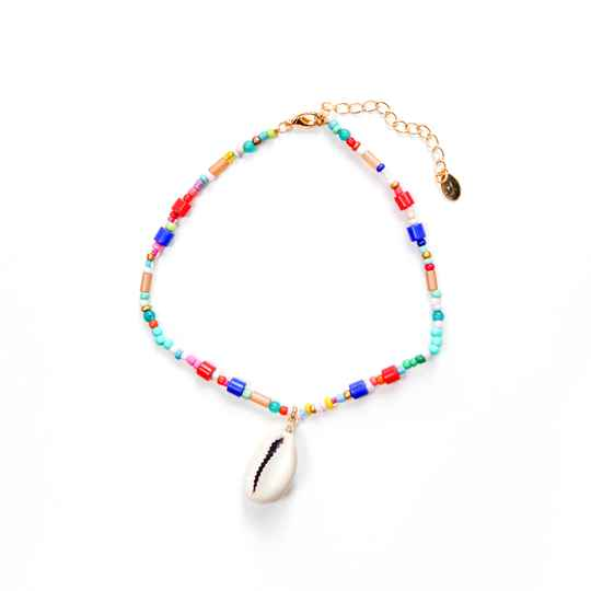 ANKLET RAINBOW SHELL