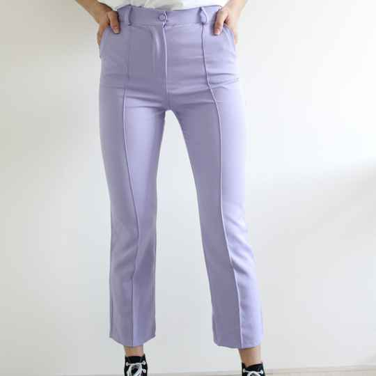LIZZY TROUSERS - LILA