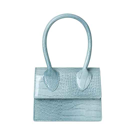 LOLA MINI BAG - BLUE/GREY
