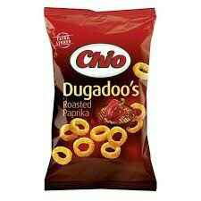 NEW! Chio Dugadoo's Roasted Paprika 125gr
