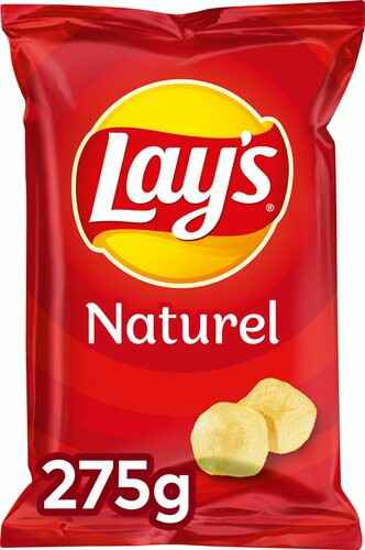 Lay's Natural Zout 275gr