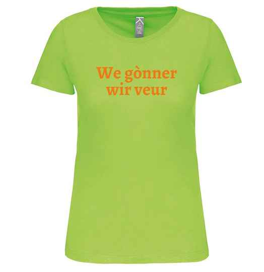 Dames T-shirt WE GÒNNER WIR VEUR