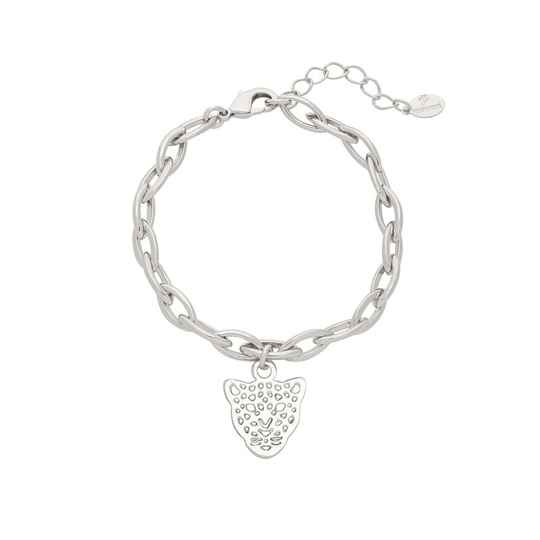 Armband panther dream - silver
