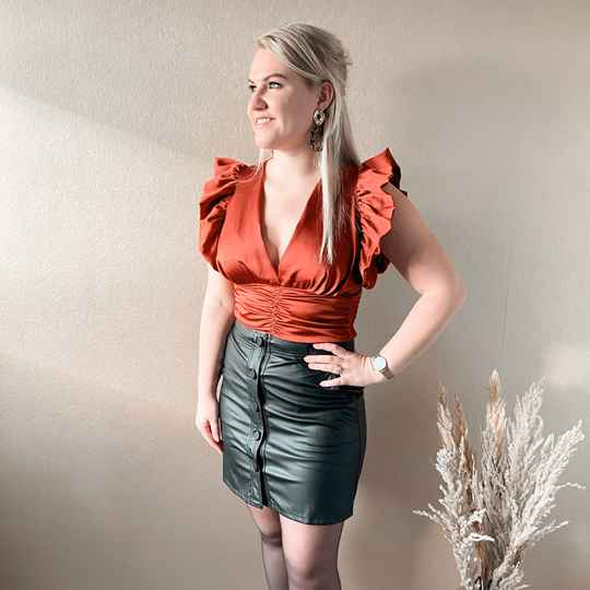 Kate top - rouge