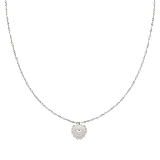Ketting true love - silver