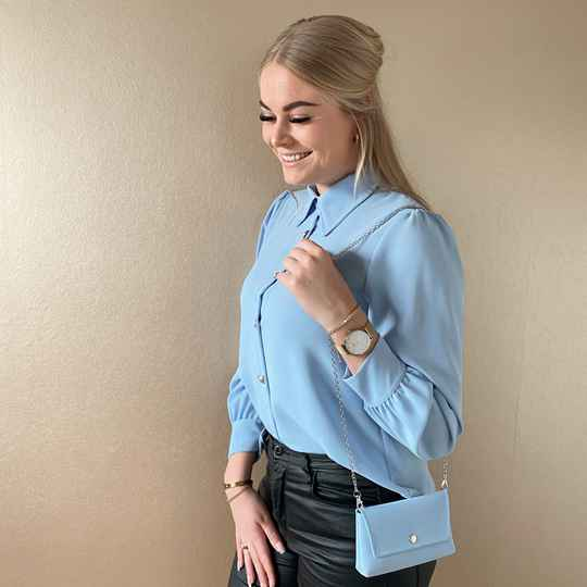 Britt blouse - blue