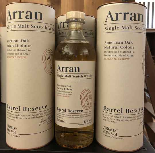 The Arran Barrel Reserve