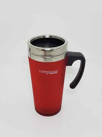 Thermos Drinkbeker Rood.