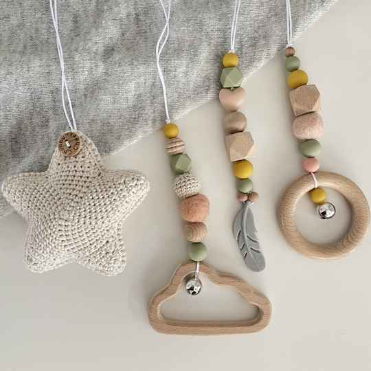 Baby gym hangers