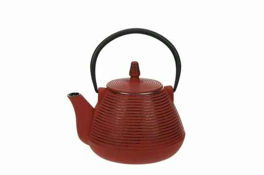 Cosy & Trendy Nagoya red theepot met filter 1 l, 231021