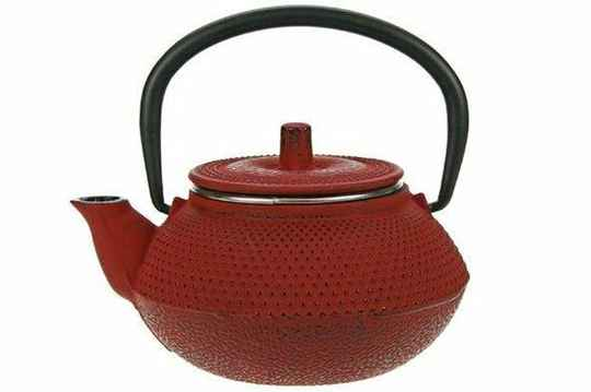 Cosy & Trendy Kobe Tea for One Theepot - 0.3 l - Gietijzer - Rood, 130321 E
